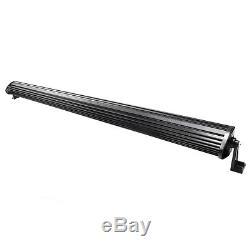 CREE 700W 5D 52INCH LED Spot &Flood Combo Work Light Bar Offroad Driving Lamp