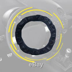 Car Steering Wheel Cover Leather Breathable Anti-slip 15''/38cm Car Accessories