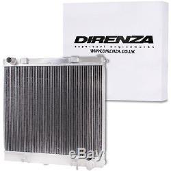 Direnza Twin Core Aluminium Radiator Rad For Land Range Rover P38 V8 4.0 4.6 94+