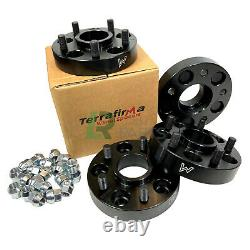 Discovery 2 & Range Rover P38 New Terrafirma 30mm Black Wheel Spacers Spacer Set