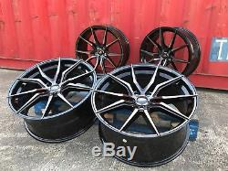 FITS Range Rover Sport Vogue Discovery 22 Alloy Wheels only SPYDER BLACK pearl