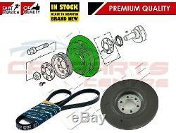 For Land Rover Range Rover 2.5 P38 Crank Shaft Damper Pulley Drive Belt Stc3345