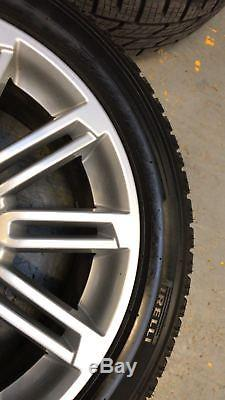 GENUINE USED 19 5x120 ALLOY WHEELS DISCOVERY 3 4 5 PIRELLI TYRES