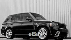 Genuine Range Rover 22 Kahn Alloy Wheels Vogue Sport Discovery Brand New