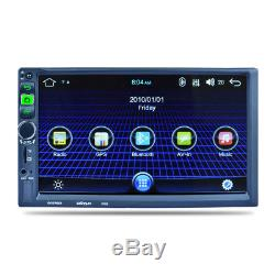 HD Capacitive Android MP5 IOS Cable Camera Recorder GPS Navigation FM Radio WIFI