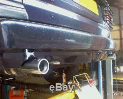 Janspeed Range Rover P38 4.0 4.6 2.5 TD Exhaust System Stainless Cat Back SS726