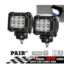 LED Work Light 12W 18W 27W 36W 48W 72W LED Car Boat Offroad Lamp SUV/ATV 12V 24V