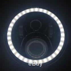 Land Rover 7 LED Headlights x2 50W E Marked DRL Halo Indicator +FREE LED 750AB
