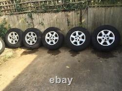 Land Rover Discovery 2 Range Rover P38 X5 Alloy Wheels & Tyre 255 55 16 Pirelli
