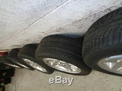 Land Rover Discovery 2 Td5 /range Rover P38 /vw Set Of 5 Wheels +tyres 255 55 18