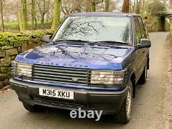Land Rover Range Rover. 4.0 Se Auto 1995 P38. Blue. Estate