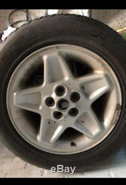 Land rover Discovery 2 Range rover p38 mondial 18 alloy wheels tyres x4