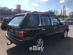 Landrover Range Rover P38 4.6 Vogue 2001 4.6 CC Java Black Oxford Leather Lpg