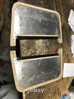 Lot1 RANGE ROVER P38 Genuine Walnut Wood Picnic Tables Pair Autobiography