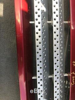 Lot1 RANGE ROVER P38 Supercharge Front Grill Up Guard Red 696