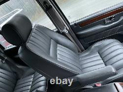 Lot4 RANGE ROVER P38 Electric Leather Seats Pair Of Black Front Seats