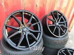New SET OF 4 Range Rover 22 SPYDER Turbine Style Alloys Wheels With Tyres