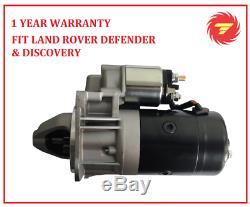 New Starter Motor For Land Rover Defender Discovery 200tdi 300tdi Range Rover