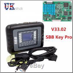 OBDII V33.02 Enhanced SBB Car Key Programmer Locksmith Diagnostic Tool UK STOCK