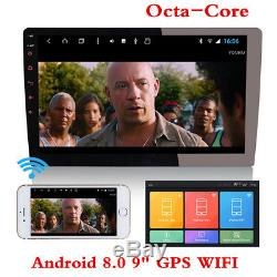 Octa-Core Android 8.1 10.1 2Din Car Stereo Radio GPS Nav Wifi BT DAB OBD 1+16G