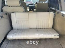 P38 Range Rover 3rd Row Gunner Seats 7 Seat Conversion Overfinch Lightstone