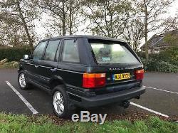 P38 Range Rover 4 Litre Petrol 1996 NO RESERVE