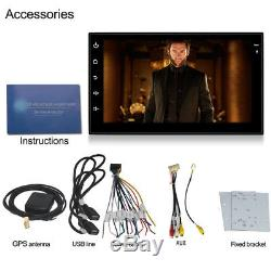 Quad Core Android 6.0 WIFI 7 2DIN Car Radio Stereo GPS SAT Nav Bluetooth TMPS