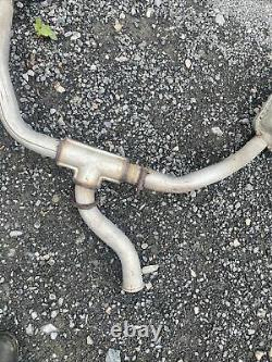 RANGE ROVER P38 2.5 4.0 4.6 Rear Twin Exhaust Not Long Fitted