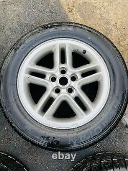 RANGE ROVER P38 Hurricane Wheels New tyres X 4 255 55 18 Will sell tyres Nexen
