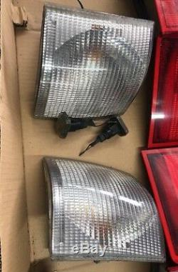 RANGE ROVER P38 Set Of Clear Lights Up Grade Front Rear Lens Very Good Ok