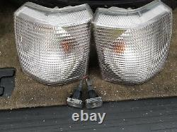 RANGE ROVER P38 Set Of Clear Lights Up Grade Front Rear Lens and side Very Good