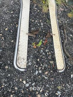 RANGE ROVER P38 Side Steps In Good Condition 4.0 4.6 2.5 Chrome