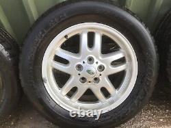 Range Rover 18 Inch Alloy Wheels & Tyres P38 L322