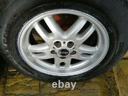 Range Rover 18' L322 Alloy Wheels Tyres P38