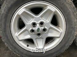 Range Rover P38 18 Mondial Alloy Wheels 255/55/18 94-02 Discovery 2 Grabber