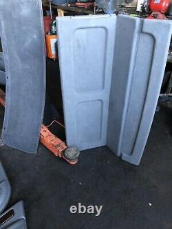 Range Rover P38 2.5 4.0 4.6 Granite Dark Grey Leather Interior Seats Trim 94-02