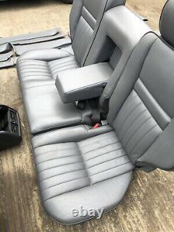 Range Rover P38 2.5 4.0 4.6 Granite Grey Leather Interior Seats Door Cards 94-02