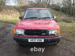Range Rover P38 2.5 diesel
