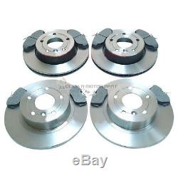Range Rover P38 2.5d 4.0 V8 1995-2002 Front & Rear Brake Discs And Pads Set New