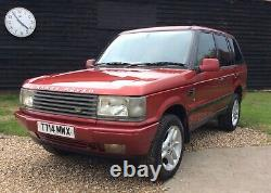 Range Rover P38 4.0 V8 Petrol with working Gas Conversion Lpg Classic SWAP