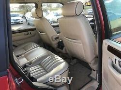 Range Rover P38 4.6 HSE, Roika Red, Full Cream Leather