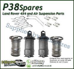 Range Rover P38 Air Spring Bags Front + Rear Dunlop X4 95-02 2.5 TD 4.0 4.6 V8