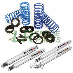 Range Rover P38 Air Suspension To Coil Spring Conversion Kit & Shock Absorbers
