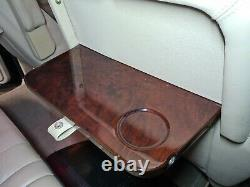 Range Rover P38 Autobiography Front Seats With Wood Picnic Tables