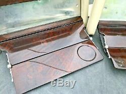 Range Rover P38 Autobiography Genuine Rear Picnic Tables Picnic Wood Walnut RARE