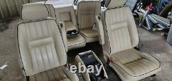 Range Rover P38 Autobiography Seats With Wood Picnic Tables And Vhs System