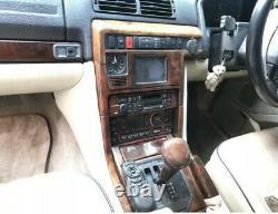 Range Rover P38 Autobiography Walnut Wood Trim Set Very Rare Carin Burl Interior