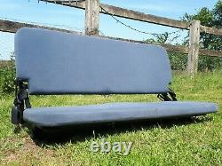 Range Rover P38 Boot Seat Bench With Seat Belt Buckles