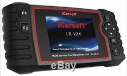 Range Rover P38 Diagnostic Scan Tool Fault Code Reader iCarsoft LR V2.0