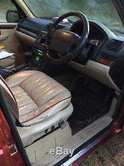 Range Rover P38 Diesel Spares Repair
